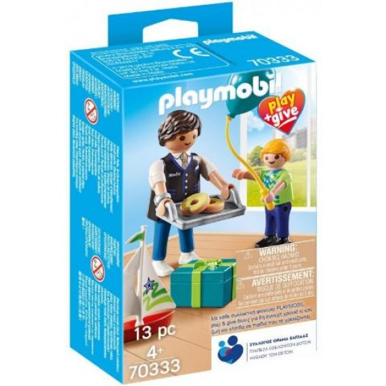 Playmobil Play And Give Νονός 70333